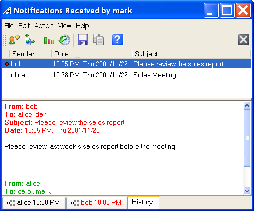 Akeni Jabber Client (XMPP) Corporate IM Screen shot